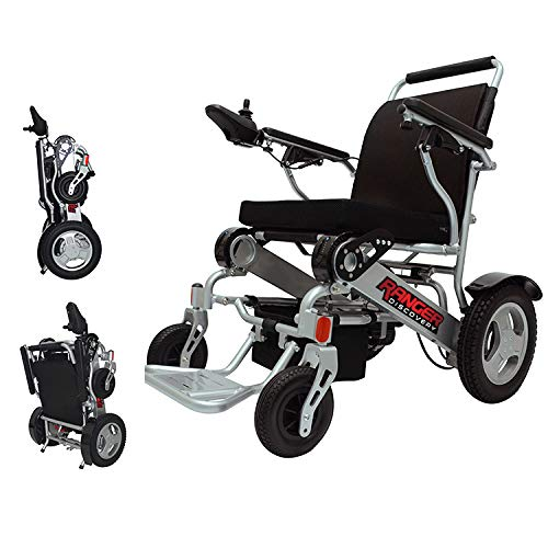 Porto Mobility Ranger D09, No.1 Best Rated Weatherproof Exclusive Portable Power Wheelchair, Lightweight, Foldable, Heavy Duty, Dual Battery, Dual Motorized Electric Wheelchair