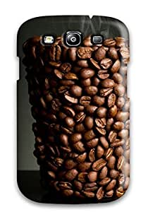 Hot Design Premium GrdWKMJ23228LrTar Tpu Case Cover Galaxy S3 Protection Case(coffee Bean Cup Food Coffee)