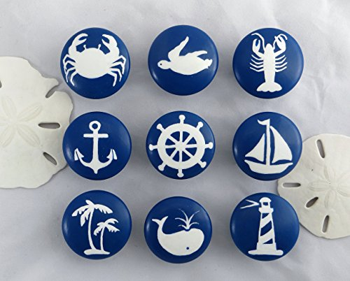 Set of Nautical Drawer Knobs
