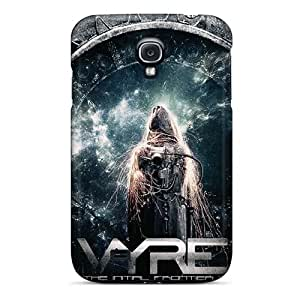 Excellent Hard Phone Case For Samsung Galaxy S4 (KwF5305ZSbK) Unique Design Trendy Metallica Image