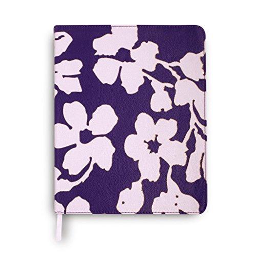 Vera Bradley Women's Journal Floral Berry, Purple, Leatherette Cover by Vera Bradley