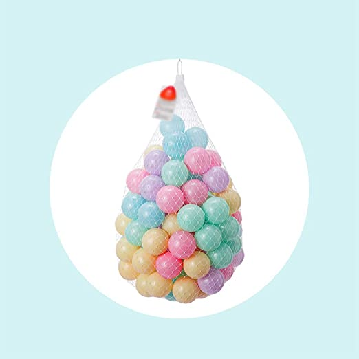 LINGLING-Ocean ball Color Ball Thickening Wave Ball Ball Pool Indoor Color Childrens Toy Ball Standard 7CM Environmental Material Color : A, Size : 100