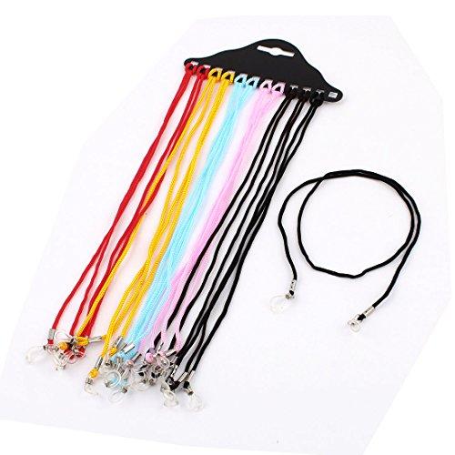 Nylon Cord Glasses Spectacle Retainer Strap 12pcs Multicolor Color