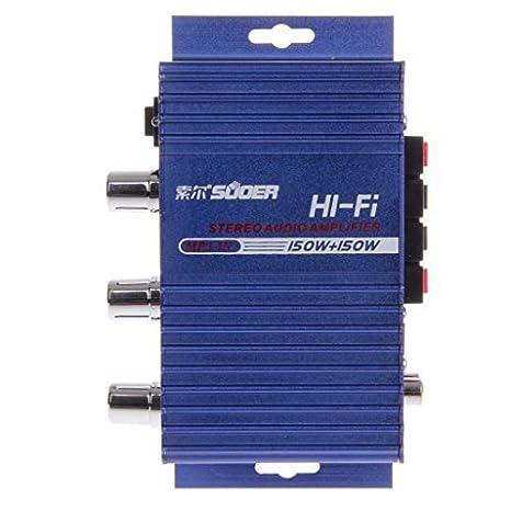 Estéreo SON-8251A 150W caja del coche de Auto Audio Amplifie