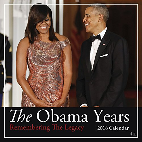 "Shades of Color The Obama Years 2018 African American Calendar, 12"" x 12"" (18OB)"
