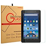 Fire HD 7 Screen Protector –VONNTA 9H Hardness, Crystal Clear, Scratch-Resistant, Premium Fire HD 7 Tempered Glass Screen Protector – For 5th GEN 2015, 6th GEN 2016 Fire HD Tablet 7""