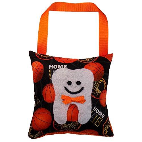 Tooth Fairy Pillow Keepsake for a Boy Basketball Basket Ball Sport Design Theme