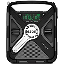 Eton FRX5BT All Purpose Weather Alert Radio with Bluetooth, Black