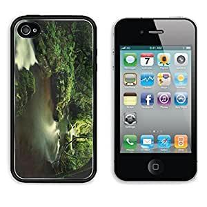 Hills Creek State Park HWRU iPhone 4 / 4s Cover Premium Aluminium Design TPU Case Open Ports Customized Made to Order
