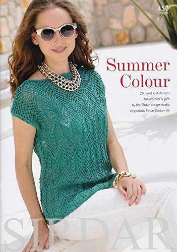 Sirdar Knitting Pattern Book 457 Summer Colour Amazon