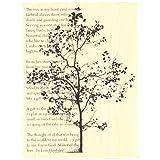 Stampendous Wood Handle Stamp, Tree Poem Image