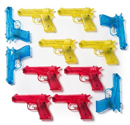 Wholesale Water Guns (Neliblu 12 Piece Plastic 6