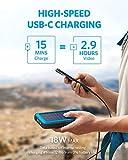 Anker PowerCore Solar 20000, 18W USB-C Power Bank