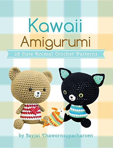 Amazoncom Kawaii Amigurumi 28 Cute Animal Crochet Patterns