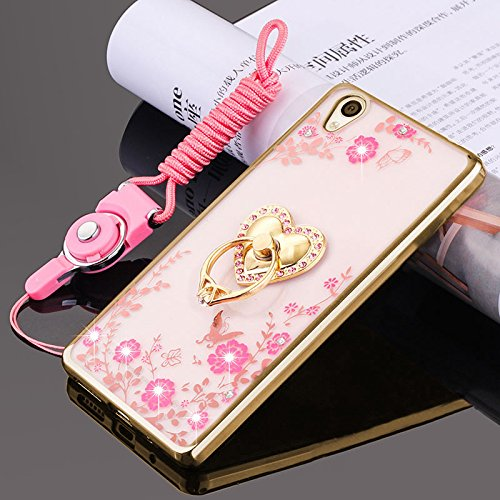 Sony Xperia Z5 Case,ikasus Pink Butterfly