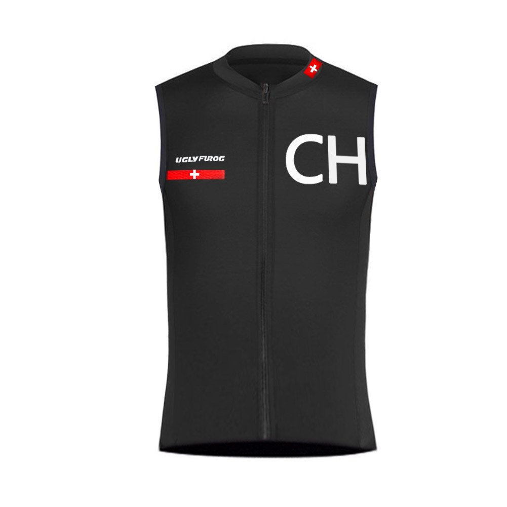 Uglyfrog 2018 Newest Spring/Summer Men's Sleeveless Cycling Jersey Triathlon Vest