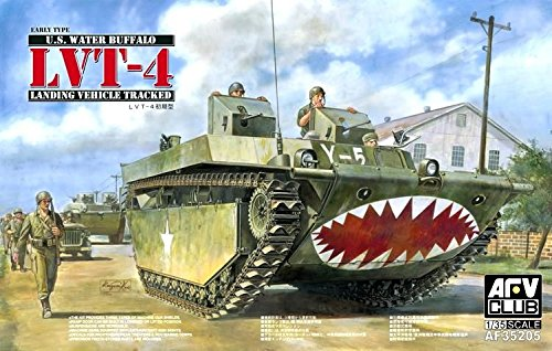 (AFV Club Models 1/35 LVT-4 Water Buffalo (Early Type))