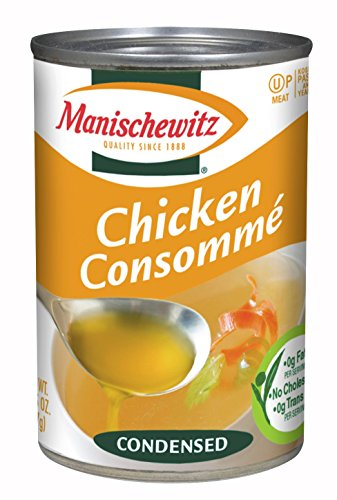 MANISCHEWITZ Chicken Consomme Condensed Soup, 10.5-Ounce Cans (Pack of 12)