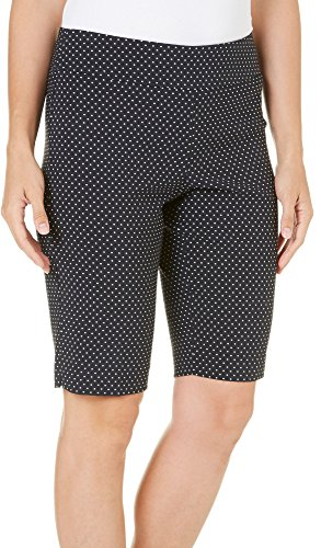 Counterparts Petite Dot Print Skimmer Shorts 10P Black/White Dot Skimmer