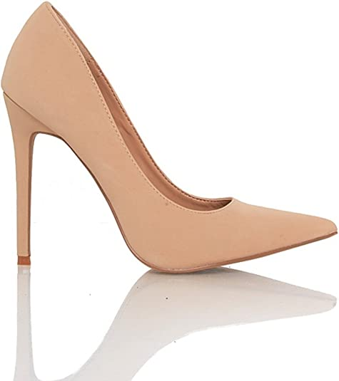 Pointy Nude Heels