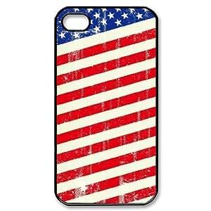 ALICASE Diy Customized hard Case American Retro Flag For iPhone 6 plus 5.5 [Pattern-1]