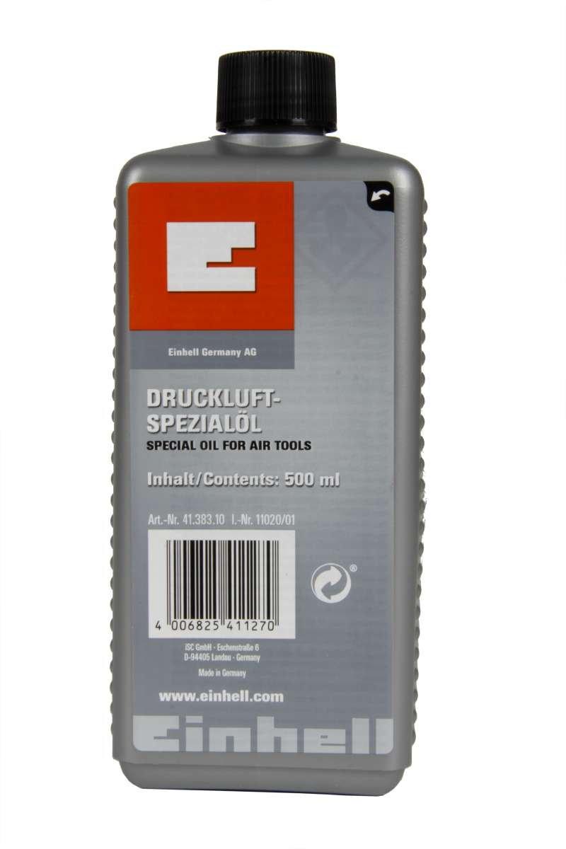 Einhell Huile pour outils pneumatiques 500 ml Spezialöl für Druckluftwerkzeuge 500ml