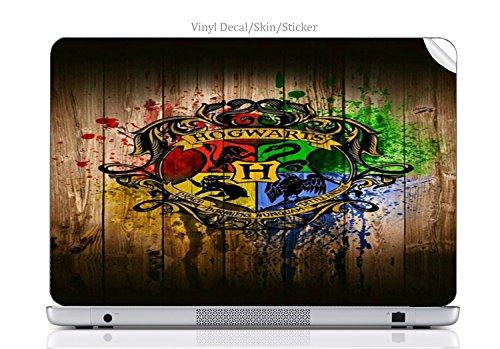 Laptop VINYL DECAL Sticker Skin Print Wizard House fits Chromebook 550