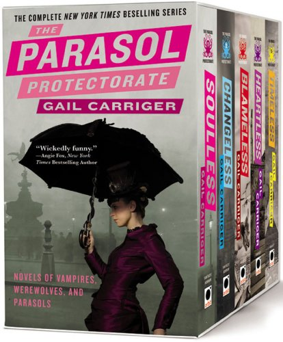 The Parasol Protectorate Boxed Set: Soulless, Changeless, Blameless, Heartless and Timeless -