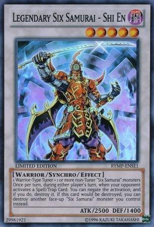 Yu-Gi-Oh! Promo Cards - Legendary Six Samurai - Shi En - RYMP-ENSE1 - Super Rare