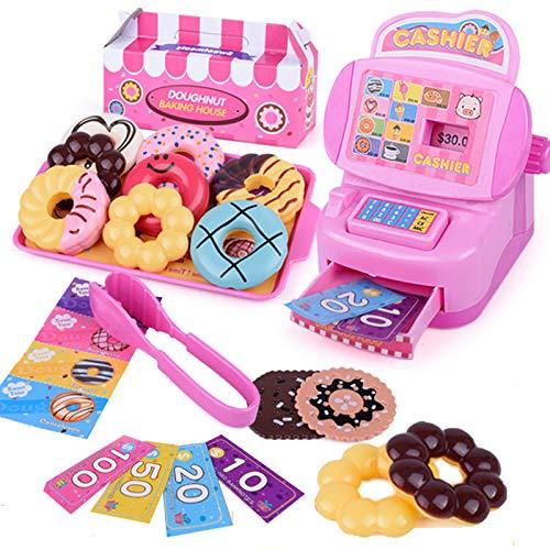 JX Toy Cash Register Shopping Pretend Play Money