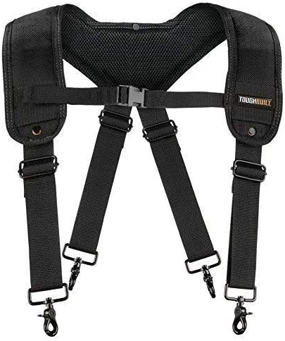 Tool Belts Suspenders//Fit Heavy Duty Work//Distribute The Weight of The Tool,Durable /& Comfortable//Multiple Tool Pockets//Tool Suspender