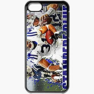 Personalized iPhone 5C Cell phone Case/Cover Skin 14446 colts 2 Black