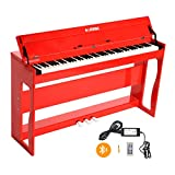 LAGRIMA 88 Weighted Key Digital Piano, USB/MIDI/Headphone/Mic/Audio Output Feature, with Power Supply, 3 Pedals, Instruction Book, Suit for Kids, Teen, Adult, Beginner or Training Institution