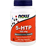 Health & Personal Care : NOW Supplements, 5-HTP 100 mg, 120 Veg Capsules