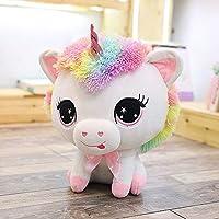 Toys&us Unicorn Plush Stuffed Animal Cushion Soft Toys 40 cm (Blue and Pink)