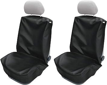 Carpendo Sitzbezüge Schonbezug Sitzschoner Auto Universal Werkstatt Sitzbezug Werkstattschoner Set 2 Tlg Atlanta Auto
