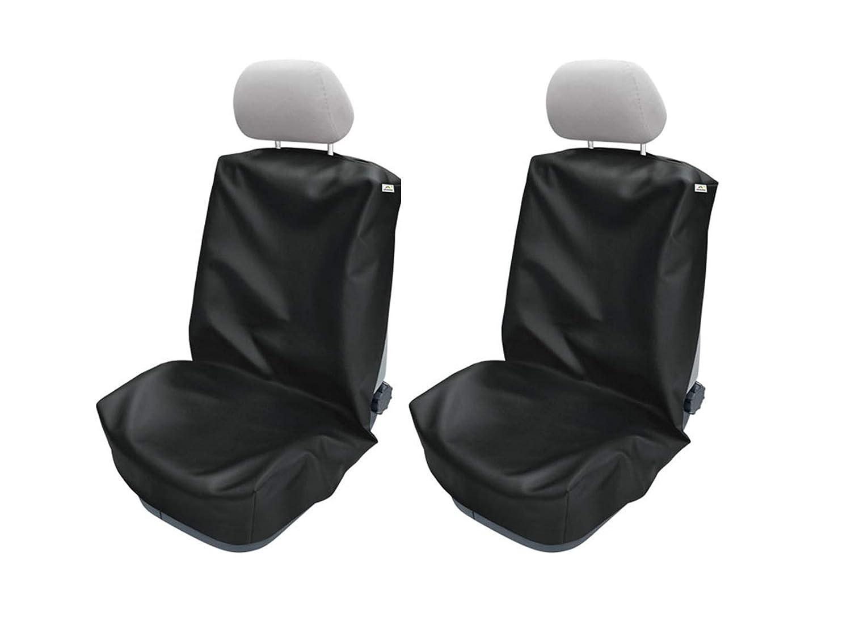 Carpendo Sitzbez/üge Schonbezug Sitzschoner Auto Universal Werkstatt Sitzbezug Werkstattschoner Set 2 TLG Monteur