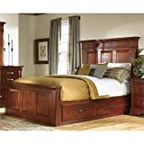 A-America KALRM5131 Kalispell Storage Bed, King