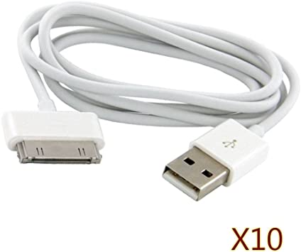 3FT 30PIN USB SYNC DATA POWER CHARGER CABLE CORD IPHONE IPOD TOUCH NANO NEW IPAD