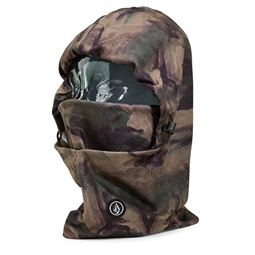 Volcom Men's Travelin Hood Thingy Neck Warmer, Camouflage, O/S - Volcom Fleece Beanie