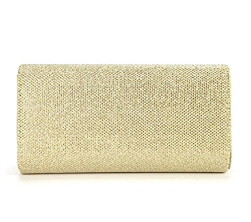Bag Small Purse Tote Cross Wedding Glitter Women Spark Evening Party UKCREATIVE Bridal Handbag Gold Bag Clutch Clutch Bag Body qw78XAg