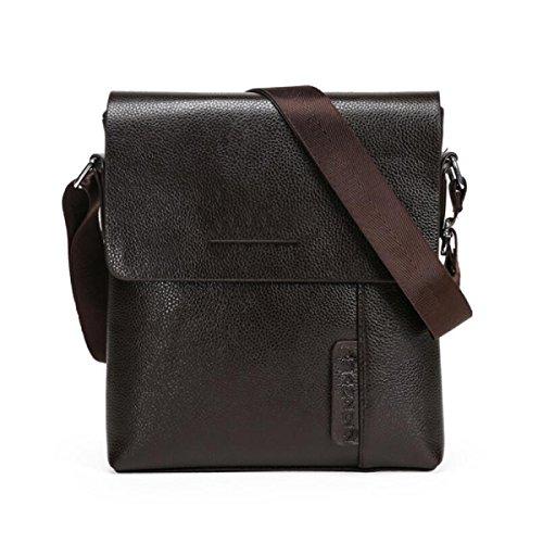 Brown Shoulder Hombro Negocios Bolsa Skew Hombres Mensajero Black Bag Casual Del BUKUANG De Business De Ff6qSS