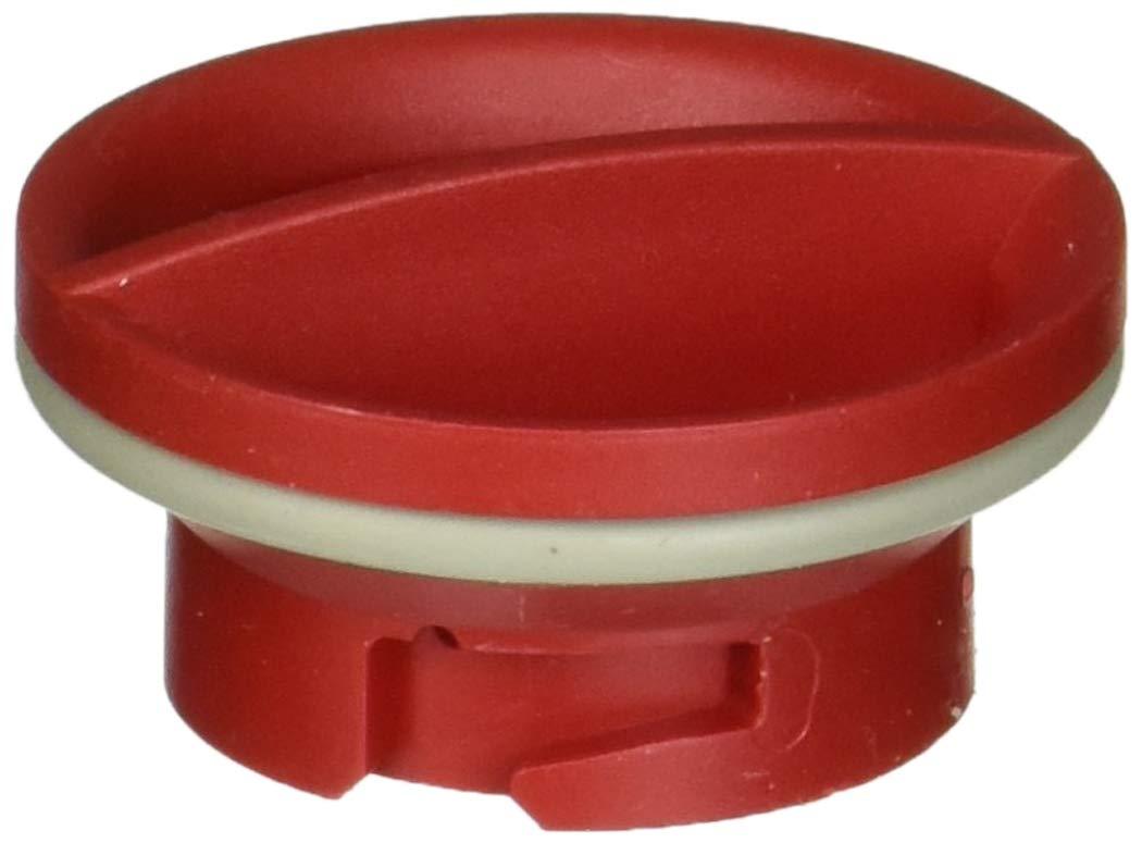 Whirlpool W10524921 Dishwasher Rinse-Aid Dispenser Cap Original Equipment (OEM) Part, Red