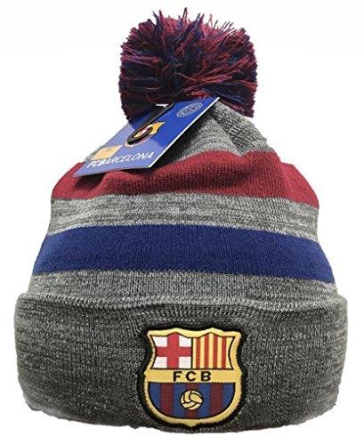 Official FC Barcelona Soccer Team Pompom - Barcalona Hat Fc