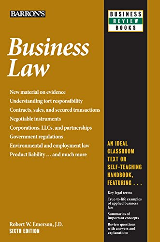 6th Series (Business Law, 6th edition (Business Review Series))
