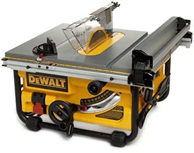 DEWALT DW745 10-Inch Compact Job-Site Table Saw with 20-Inch Max Rip Capacity - 120V from Dewalt
