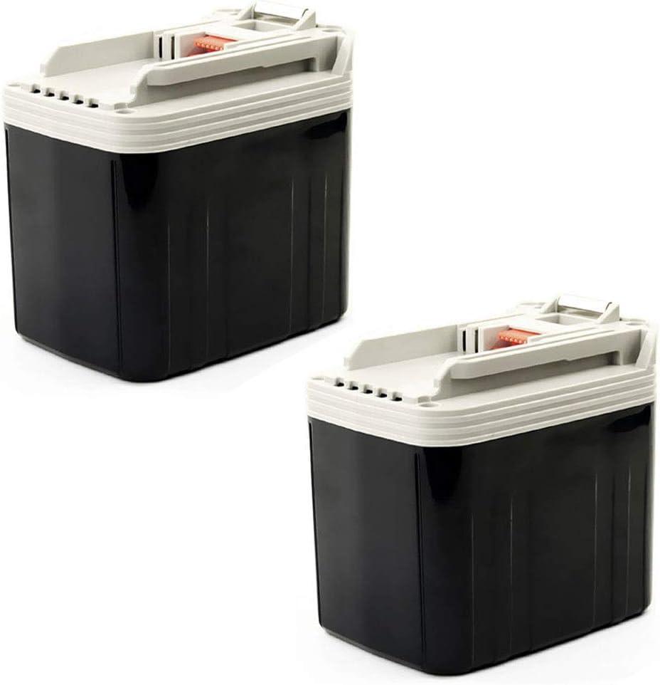 CELLONIC® [2X Batería (24V, 3.3Ah, NiMH) Compatible con Makita BDF460 / BHP460 / BHR200 / BJR240 / BLS820 / BML240 - BH2420, BH2433, B2417 bateria de Repuesto Pila reemplazo Herramienta, sustitución