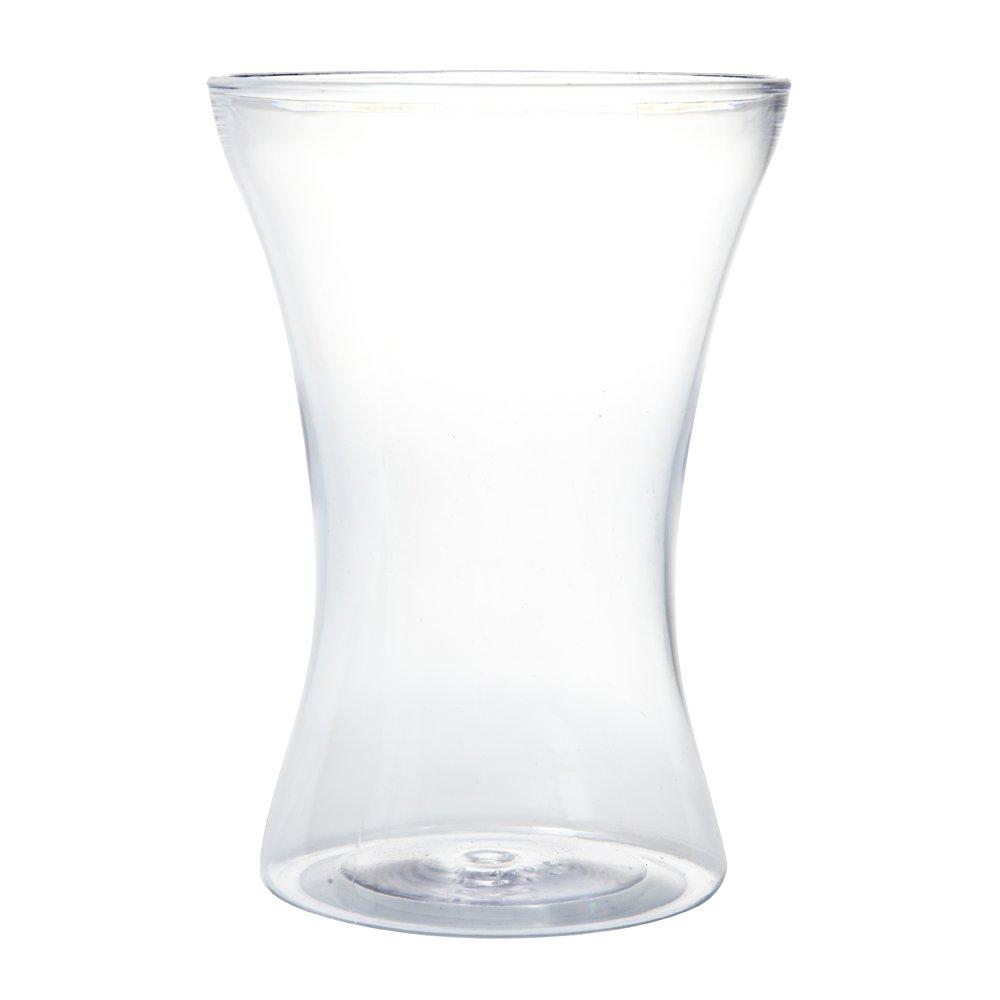 20cm Acrylic Gathered Vase Smithers Oasis 4248