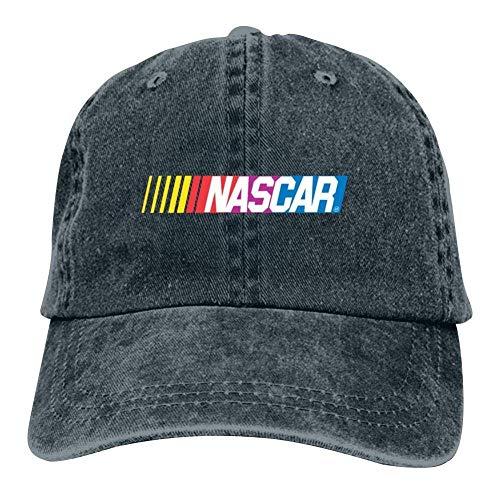 - Men Women Unisex Adult Hats Nascar Stock Car Auto Racing Logo Vintage Denim Cap Hat Adjustable Baseball Cap for Boys Girls Navy