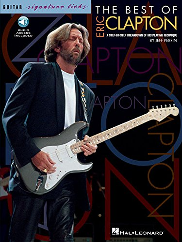 Hal Leonard The Best Of Eric Clapton - Signature Licks Guitar Tab (Songbook/Online Audio) ()